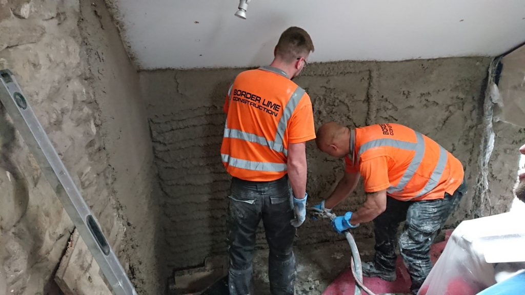 Diathonite Insulating Lime Plaster – Part 3, Installation